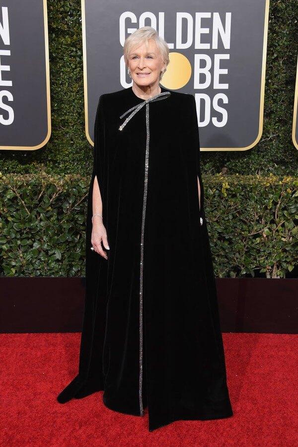 vencedora Glenn Close a esposa